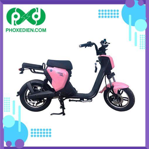 Xe đạp điện myoko Hồng