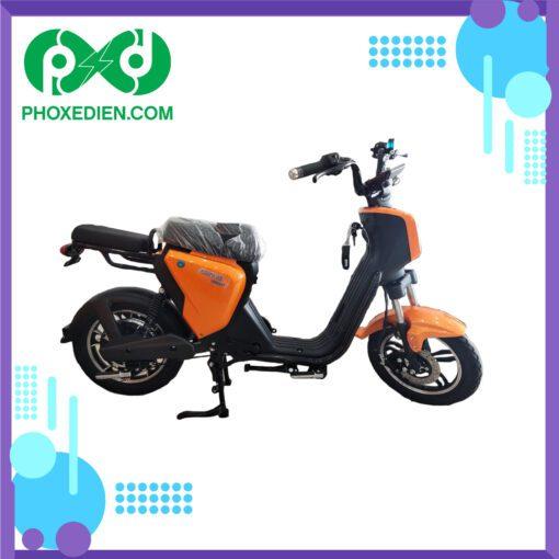 Xe đạp điện myoko - Màu Vàng
