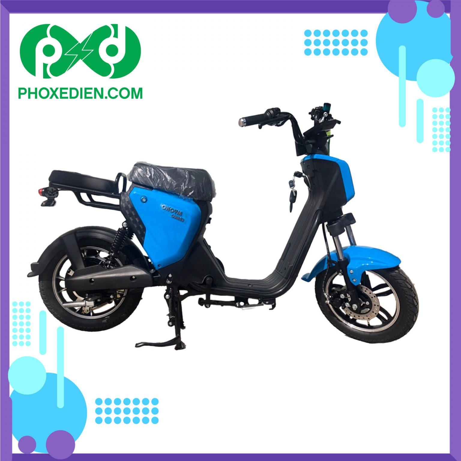 Xe đạp điện myoko - Xanh dương