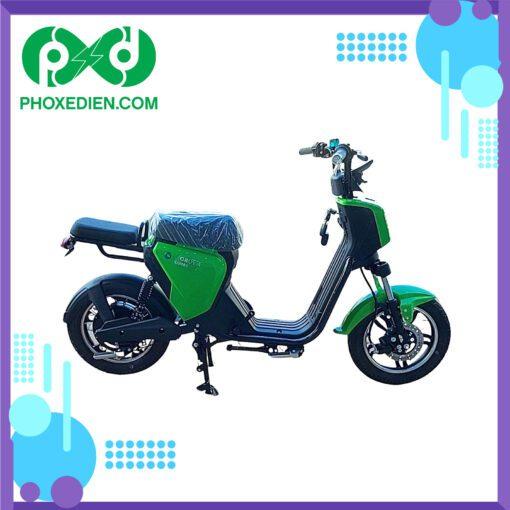 Xe đạp điện myoko Xanh lá cây