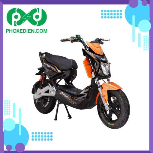 Xe máy điện Xmen DTP M6i - Màu cam đen