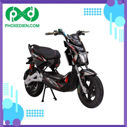 Xe máy điện Xmen DTP M6i - Màu đen