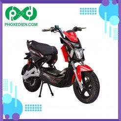 Xe máy điện Xmen DTP M6i - Màu đỏ đen