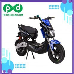 Xe máy điện Xmen DTP M6i - Màu xanh đậm