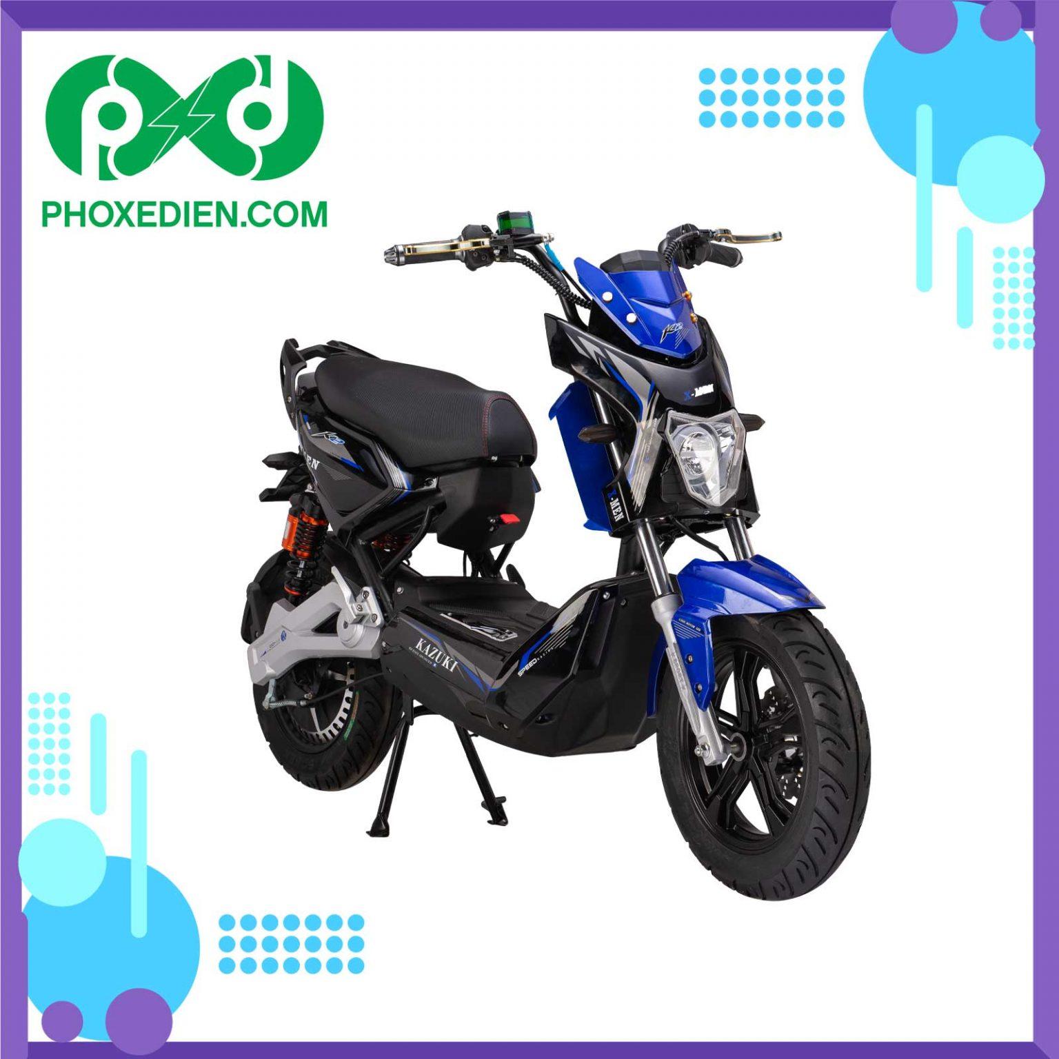 Xe-máy-điện-Xmen-Kazuki-K2-Màu-xanh-đen