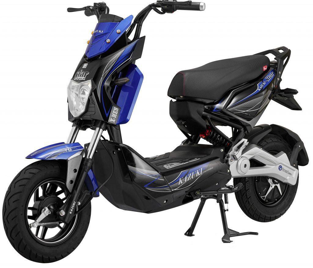 Xe máy điện Xmen Star thiết kế thể thao cá tính - Phố xe điện