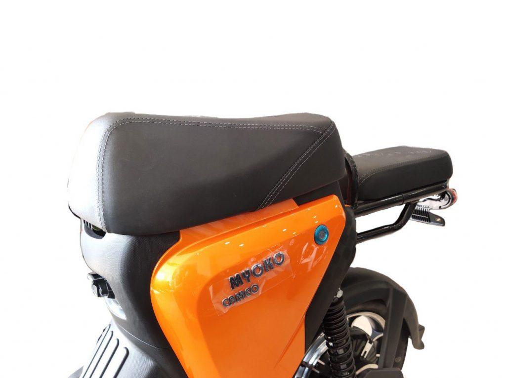 Yên xe với thiết kế rời tinh tế - xe đạp điện Myoko