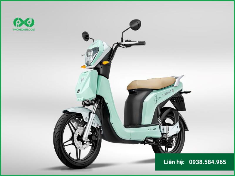 Xe máy điện VinFast Ludo Mint To Be – Phiên bản giới hạn