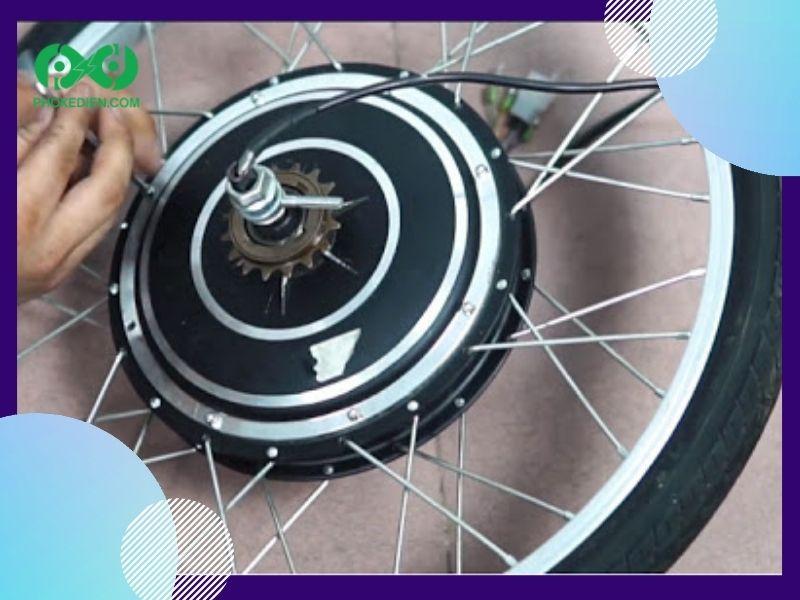 Nguyên lý hoạt động của động cơ xe đạp điện