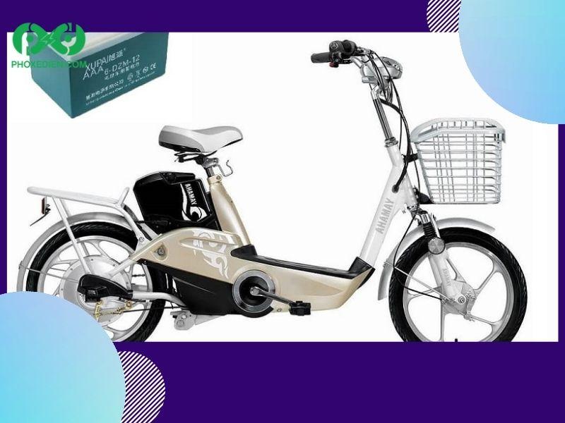Bình ắc quy xe đạp điện