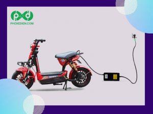 Sạc bình ắc quy cho xe đạp điện
