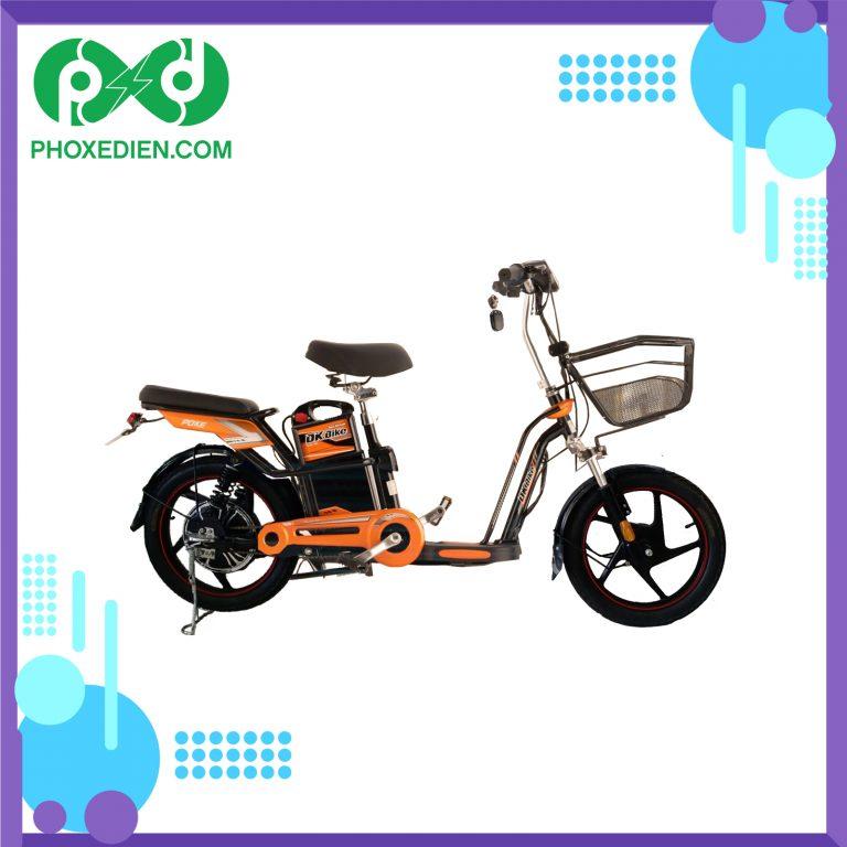 Xe đạp điện DK poke màu cam