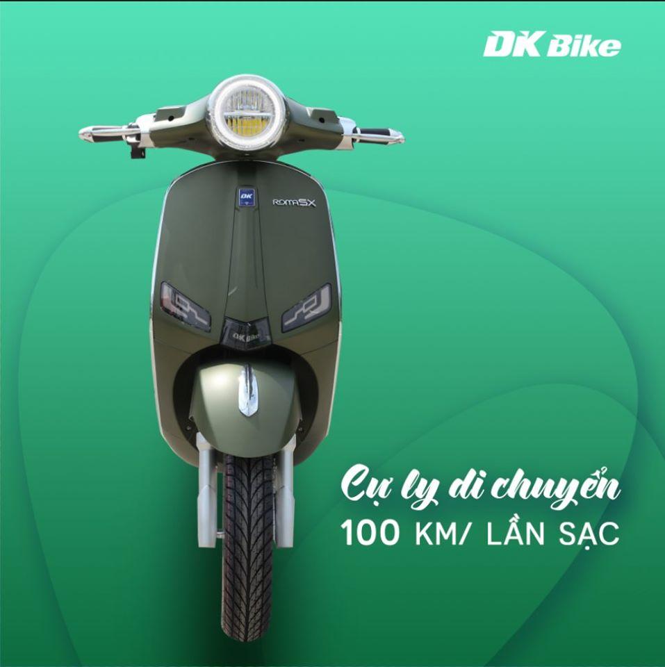 Động cơ mạnh mẽ - Xe máy điện dk roma sx