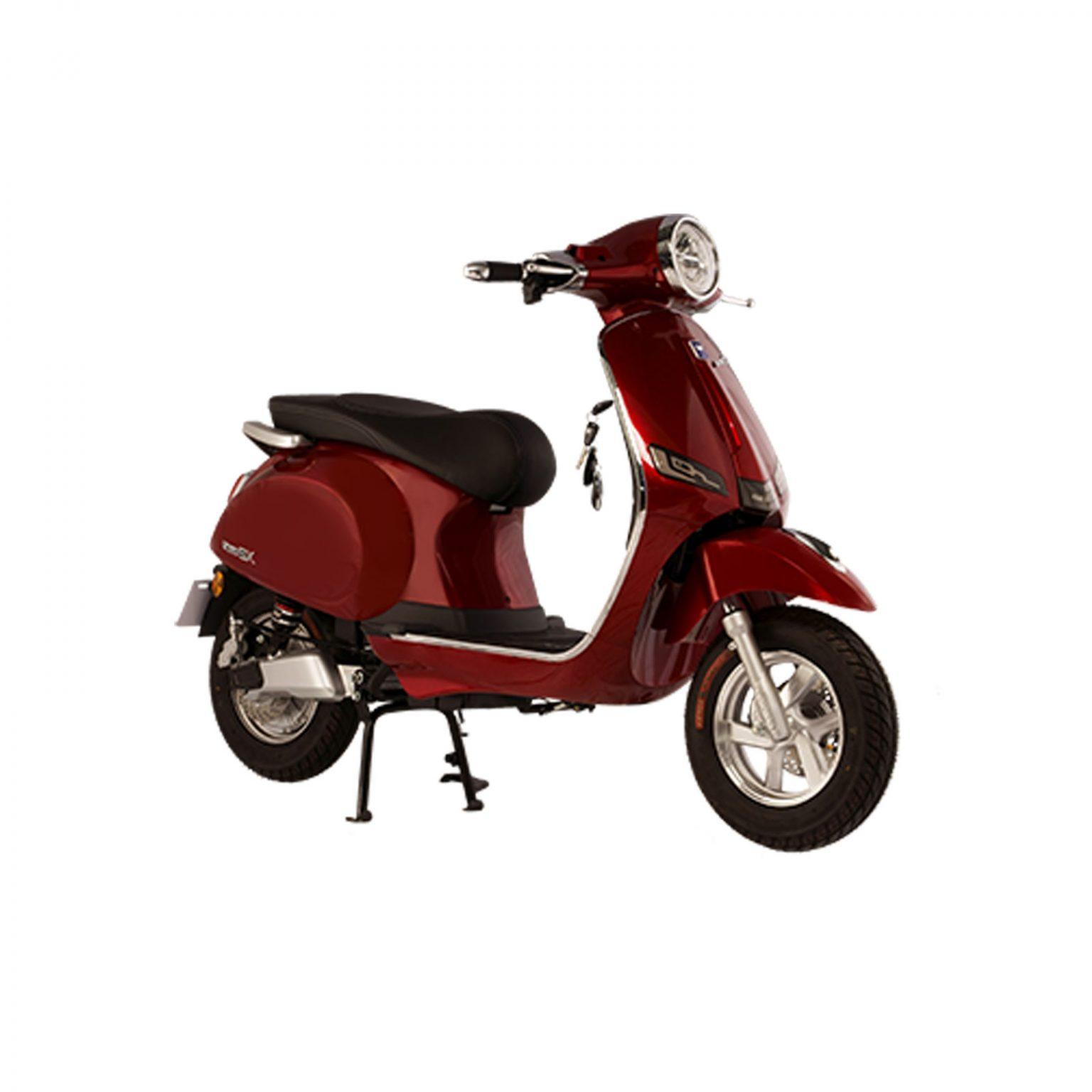 Xe máy điện DK ROMA SX Đỏ-Đậm