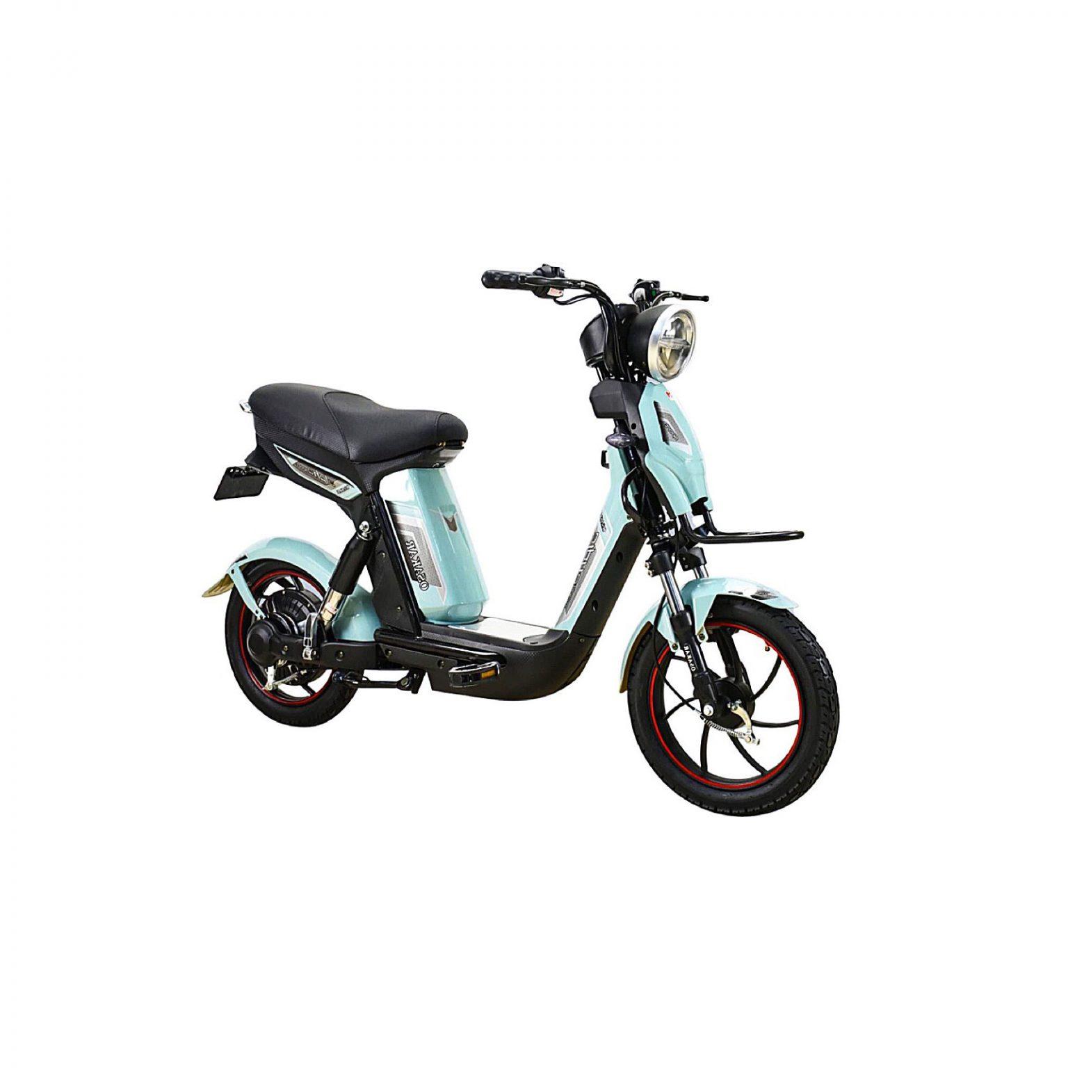 Xe đạp điện Osakar Alpha Sport 2021 Màu-Xanh-ngọc