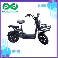 Xe đạp điện mini 2021 - Màu đen
