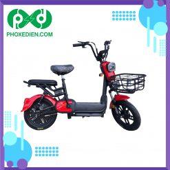 Xe đạp điện mini 2021 - Màu đỏ