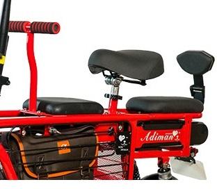 Xe điện Adiman X1 - Màu đỏ
