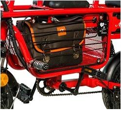 Xe điện Adiman X1 - Màu đỏ_2