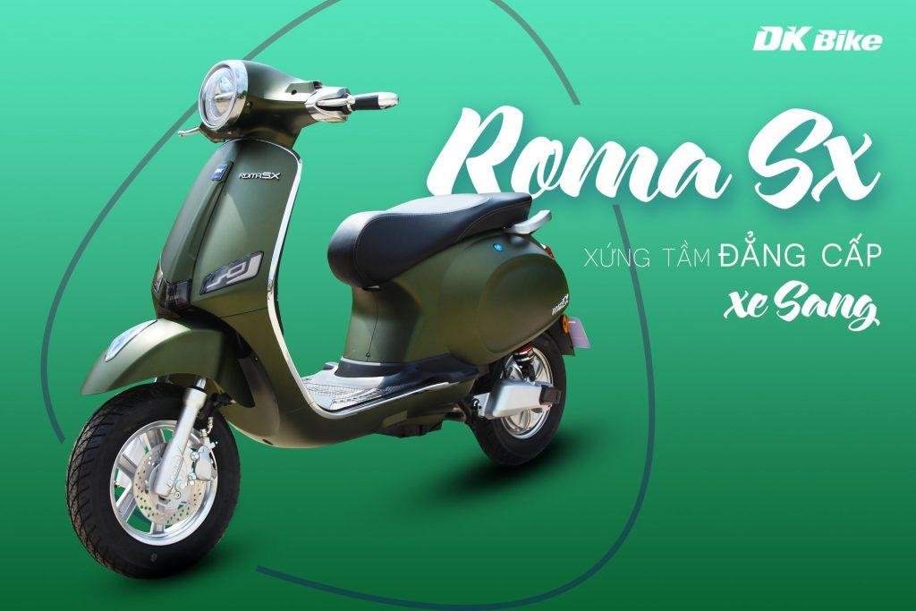 Xe máy điện DK ROMA SX - Phố Xe Điện