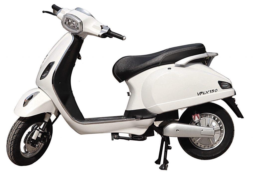 Xe máy điện Kazuki VP LX150 - Thiết kế đẹp mắt