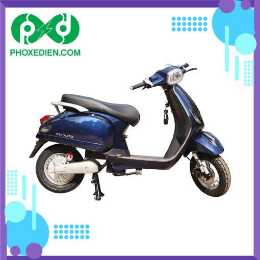 Xe máy điện Kazuki VP LX150 -Xanh đậm