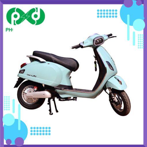 Xe máy điện Kazuki VP LX150 - Xanh dương