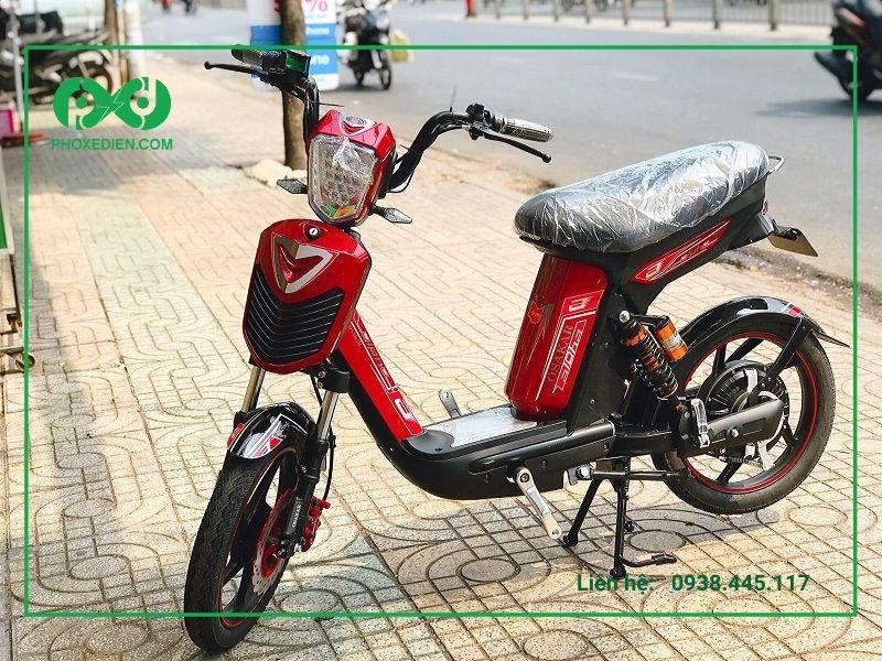 Độ xe đạp điện để tăng tốc độ cho xe