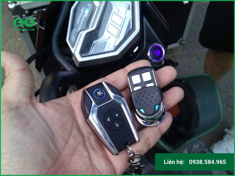 Đánh chìa khóa xe đạp điện