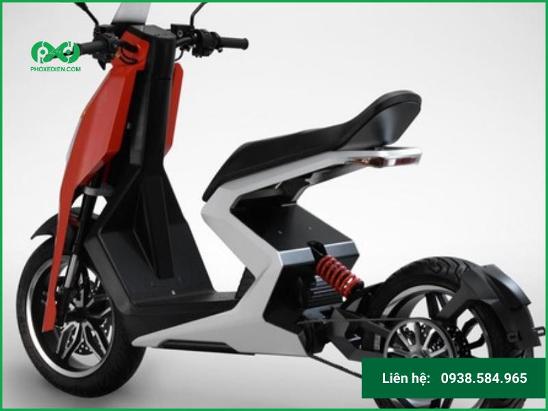 Thiết kế của xe scooter có gì đặc biệt?