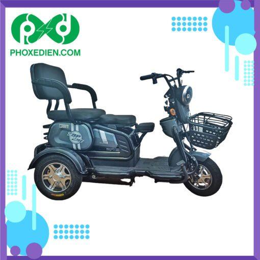 xe máy điện 3 bánh top one màu xanh ngọc