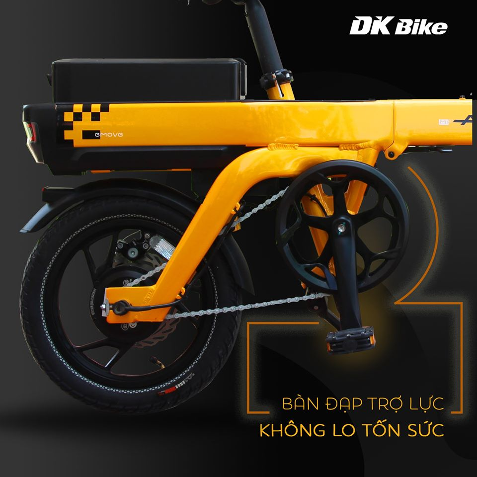 Động cơ DK Aima S3 mạnh mẽ, chống nước tuyệt đối