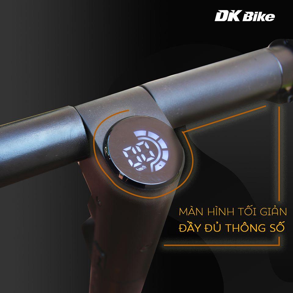 Mặt đồng hồ tối giản, tinh tế xe DK Aima S3