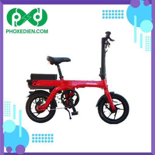 Xe-đạp-điện-gấp-DK-Aima-S3-Đỏ