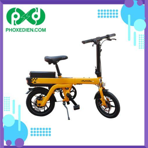 Xe-đạp-điện-gấp-DK-Aima-S3-Vàng