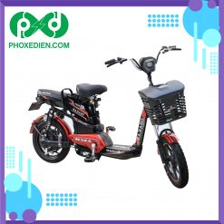 Xe-đạp-điện-Osakar-A9-New-2021-Đỏ-đen